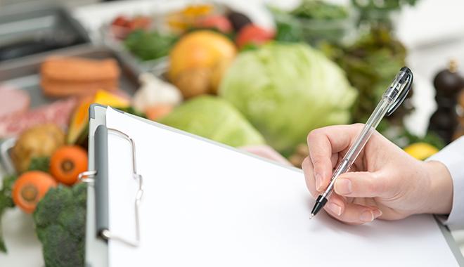 栄養管理風景